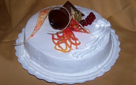 Tarta nuncial de merengue